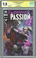 DC's Crimes of Passion #1 CGC 9.8 SS Comic Mint Edition MacDonald Cover Variant