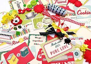 Retro RISE & SHINE 1950s Mega Lot - junk journaling, card making, scrapbooking