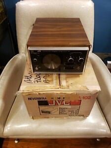 JVC ECA-102 vintage quadraphonic reverb works great with original box & packing
