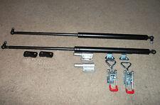 Gas Strut Set 900N Inc. Pull downs & brackets for Camper Trailers utes etc