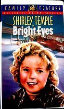 Bright Eyes (VHS, 1934, Clamshell Color Version) Shirley Temple