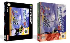 Pilotwings Pilot Wings 64 N64 Juego de reemplazo + Caja de caso cubierta obras de arte nogame