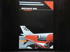 Ducati  Prospekt 900 SS Supersport Prospetto Brochure 1990 ?