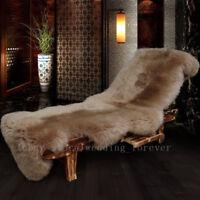 Eco Genuine Sheepskin Rug Australian Long Wool Floor Carpets Rugs Lambskin Skins