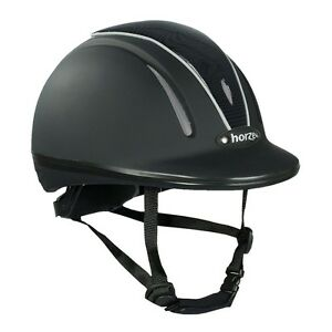 Horze Pacific Defenze Ventilated Adjustable VG1 Safety Horse Riding Hat/Helmet