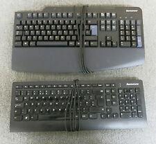 Lotto per OdL 2 x Genuine Lenovo 54y9330 41a5136 USB nero Tastiera Cablata
