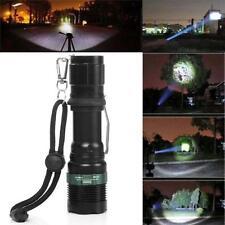 NEW 3000 Lumen Zoomable CREE XM-L Q5 LED Flashlight Torch Zoom Lamp Bright Light