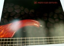 Modulus Guitars Brochure Sales list Advertisement Ad SonicHammer Quantum