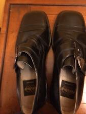Aldo Brue New Black Men's Leather Shoes