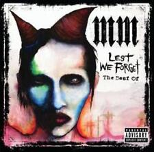 MARIYLN MANSON (LEST WE FORGET - VERY BEST OF CD SEALED + FREE POST)
