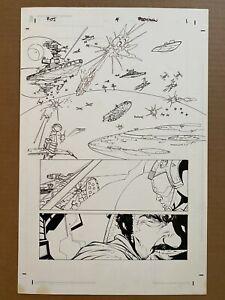 Star Wars Infinities Return of the Jedi #4 PG 1 ORIGINAL COMIC ART RYAN BENJAMIN