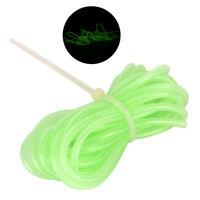 2M Soft Luminous Tube Lumo Glow in the Dark Deep Drop Fishing Tackle Accessoryyu