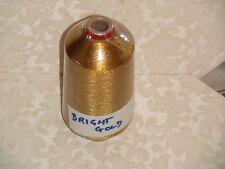 KNITTING MACHINE METALLIC YARN BRIGHT GOLD