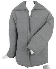 NEW! $741 Geiger of Austria Boiled Wool Puffer Jacket (Coat)! 10 e 40  Gray