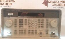 Agilenthp 8468c Signal Generator 3200 Mhz With Nist Traceable Cert
