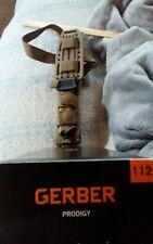 gerber portland prodigy nib knife with sheath USA mfg unused