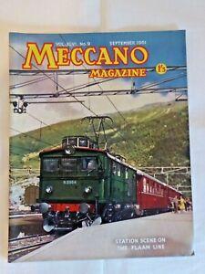 Vintage Meccano Magazine September 1961