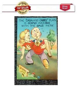 Vintage 1960's Comic Postcard # 338