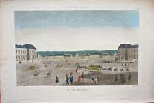 Versailles : Vue de Versailles de Fortier /19éme
