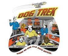 NEW Big Dogs Star Trek Outer Space Parody Humorous St. Bernard Men's T-Shirt 4XL