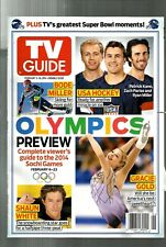 TV GUIDE-2014-OLYMPICS PREVIEW-COMPLETE VIEWER'S GUIDE-NO MAILING LABEL-MINT