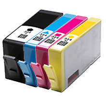 4 PK HP 564XL Ink Cartridge