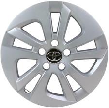 "Genuine Toyota Prius 15"" Wheel Trim 5x2 Spoke Silver x1 2015-2018 4260247180"