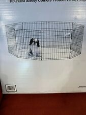 Brand New MidWest Foldable Metal Exercise Pen / Pet Playpen Open Box