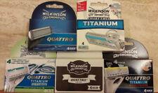 12 wilkinson sword quattro (titanium/sensitive/precision) rasierklingen Auswahl