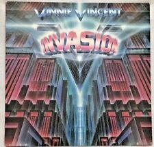 """Autographed Vinnie Vincent Invasion (Kiss) """"Invasion"""" Vinyl"""