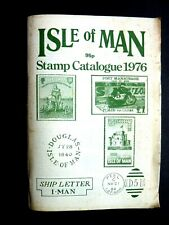 Isle Of Man Stamp Catalogue - 1976 - Cover Soiled - Clean Inside
