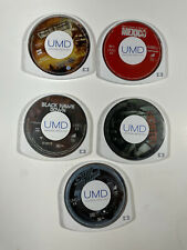 PSP UMD Movie Lot Pirates Of The Caribbean Starship Troopers Black Hawk Down