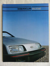 Lincoln-Mercury 1985 Merkur XR4Ti - US-Prospekt Brochure 1984 USA