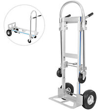 2 in 1  350kg Folding Heavy Duty Platform Trolley Hand Truck Foldable Cart