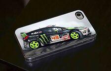 Ken Block Drift Rally Car Smoke Phone Case Fits iPhone 4 4s 5 5s 5c 6