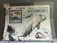 Comoro Islands 2009 Dugongs mint never hinged stamp sheet R24053