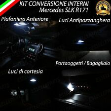 KIT LED INTERNI MERCEDES SLK R171 CONVERSIONE COMPLETA CANBUS NO ERROR 6000K