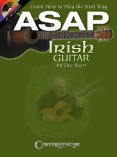 ASAP Irish Guitar Learn How To Play The Irish Way Celtic Songs TAB Music Book CD