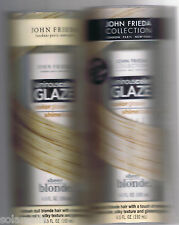 JOHN FRIEDA LUMINOUS COLOR GLAZE BLONDE PLATINUM CHAMPAGNE LOT OF 2