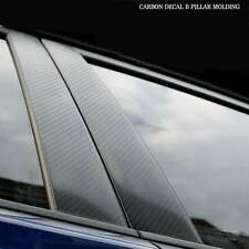 Carbon Decal B Pillar Molding Trim For 2011+ Hyundai Elantra (Avante MD)