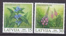 LATVIA 2004**MNH SC# 589 - 590 The Flowers - Endangered Plants