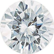 0.75 CT FOREVER ONE MOISSANITE LOOSE ROUND CUT STONE 6MM