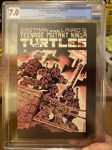Teenage Mutant Ninja Turtles #1 - 3rd Print - Mirage 1984 - (CGC GRADE 7.0)
