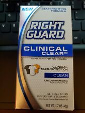 Right Guard Antiperspirant & Deodorant - Clinical Clear Clean - EXPIRED 02/16