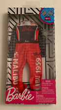 Barbie Fashion Race Car Driver Malibu 1959 Jumpsuit Clothing With Trophy NEW