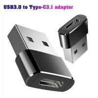 USB 3.0 (Type-A) Male to USB3.1 (Type-C)Female Converter Adapter Connector U8Q1