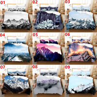 Mountain Single/Double/Queen/King Bed Quilt/Doona/Duvet Cover Set Pillowcase
