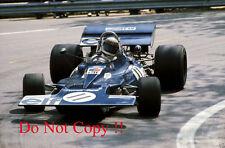 Jackie Stewart Tyrell 003 Winner Spanish Grand Prix 1971 Photograph 1