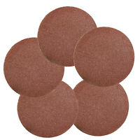 7in 180mm Sandpaper Sanding Disc Rotary Hook Loop Sander 80 Grit 50pcs