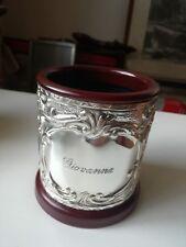 Pen Silver 925 /°°° Customized Giovanna 3 7/8in Diameter Velvet